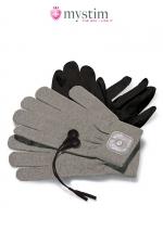 Gants électro-stimulation Magic Gloves - Mystim : Paire de gants de stimulation par impulsion électrique pour atteindre de nouveaux sommets de plaisir!