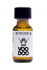 Poppers Voodoo 25ml : Aphrodisiaque d'ambiance hybride (amyl + propyl) procurant des sensations extra fortes (flacon de 25 ml).